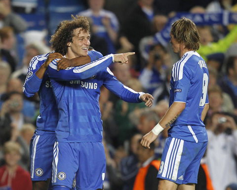 Chelsea Bayer David Luiz