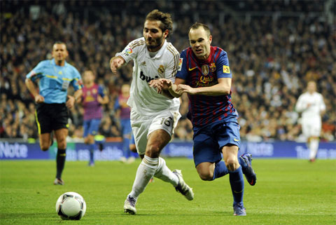 Real Madrid Barcelona, Andres Iniesta, Hamit Altintop