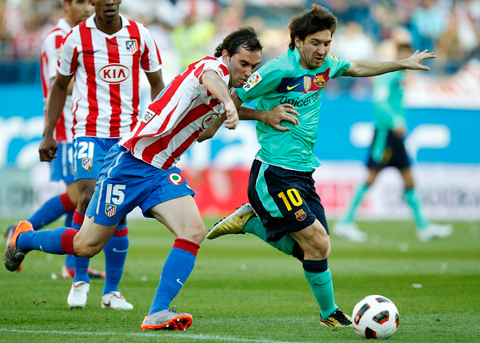 Barcelona Atletico Madrid Lionel Messi