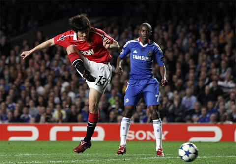 Park Ramires Chelsea Manchester United