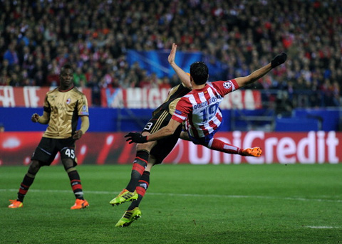 Atletico Madrid Milan  Diego Costa